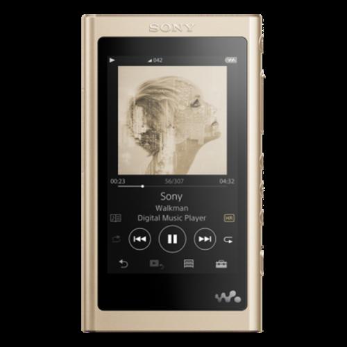 NWA55LN (złoty): Walkman® zaawansowany Odtwarzacz muzyczny | Sony Center Nowy Sącz