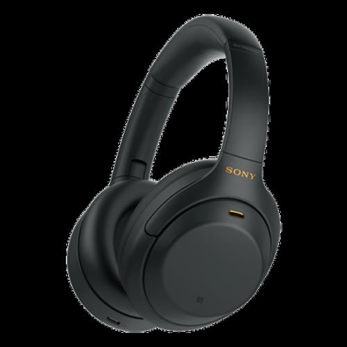 Słuchawki bezprzewodowe WH-1000XM4B czarne | Sony Center Nowy Sącz
