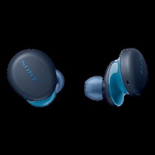SONY WF-XB700L niebieskie - prawdziwie bezprzewodowe słuchawki z systemem EXTRA BASS| Sony Center Nowy Sącz