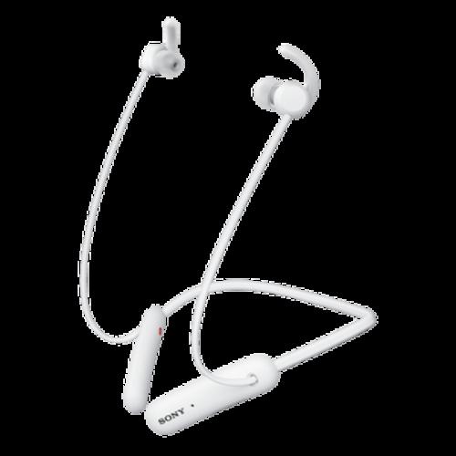 SONY WI-SP510W białe - Bezprzewodowe, sportowe słuchawki douszne | Sony Center Nowy Sącz