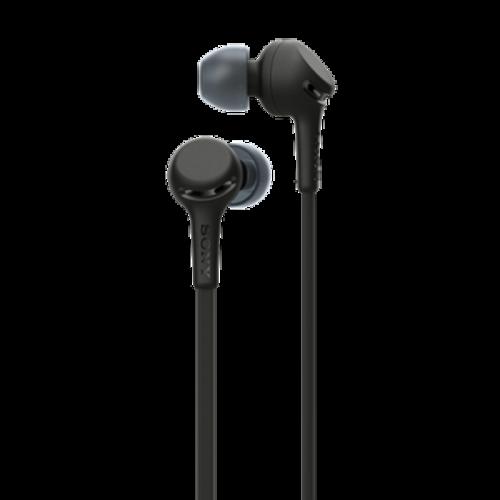SONY WI-XB400B czarne - Bezprzewodowe słuchawki douszne z EXTRA BASS | Sony Center Nowy Sącz
