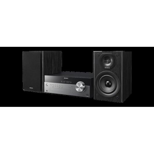 CMTSBT100B: zintegrowany zestaw audio z funkcją strumieniowej transmisji bezprzewodowej i radiem DAB/DAB+