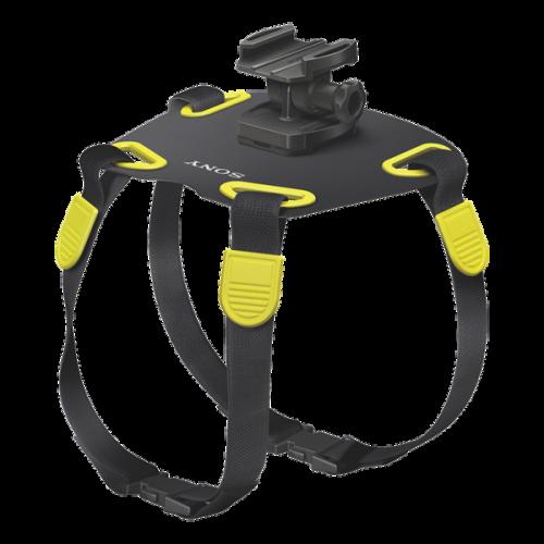 AKADM1: Szelki dla psa umożliwiające instalację kamery Action Cam