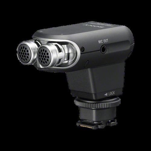 ECMXYST1M: Mikrofon stereofoniczny ze stopką Multi Interface i przewodem do złącza