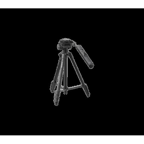 VCTVPR1: Aluminiowy statyw z zaawansowanym pilotem, stopką do szybkiego montażu oraz przewodem USB z wielozłączem