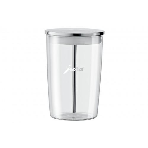Szklany pojemnik na mleko