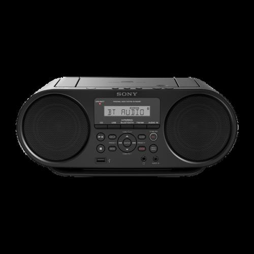 ZSRS60BT: Odtwarzacz CD typu boombox z łączem Bluetooth