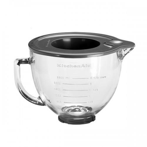 Dzieża szklana 4,8L z pokrywką