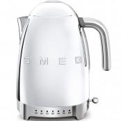 Czajnik elektryczny SMEG KLF04SSEU chromowany z elektryczną z regulacją temperatury   SPRAWDŹ OFERTĘ!