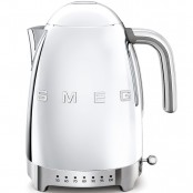 Czajnik elektryczny SMEG KLF04SSEU chromowany z elektryczną z regulacją temperatury   Salon Smeg Nowy Sącz   Polska Dystrybucja