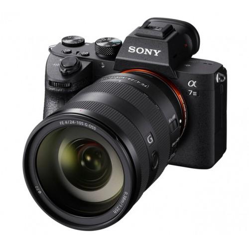Aparat Sony α7 III ILCE-7M3 z obiektywem Sony FE 24-105 f/4.0 G OSS SEL24105G ILCE7M3GBDI | CASHBACK 500zł |