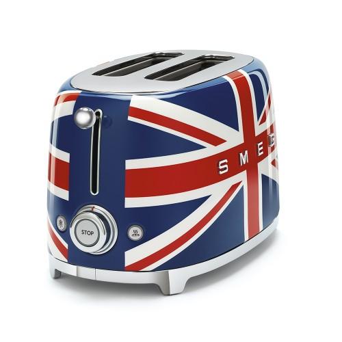 Toster SMEG flaga brytyjska TSF01UJEU
